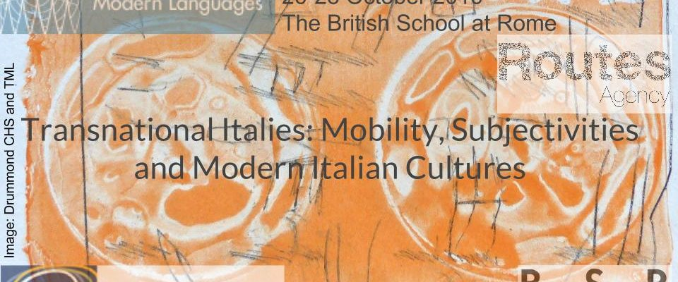 Transnational Italies: Mobility, subjectivities, and modern Italian cultures